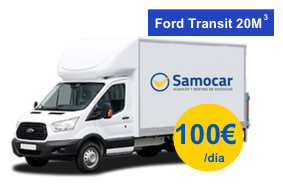 Oferta alquiler camión Madrid