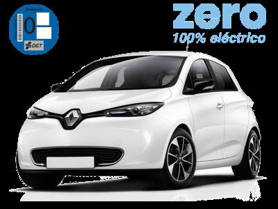 Renting Renault Zoe Madrid